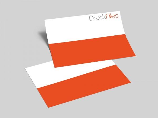 Flyer DIN A5 Quer (21,0 cm x 14,8 cm), beidseitig bedruckt